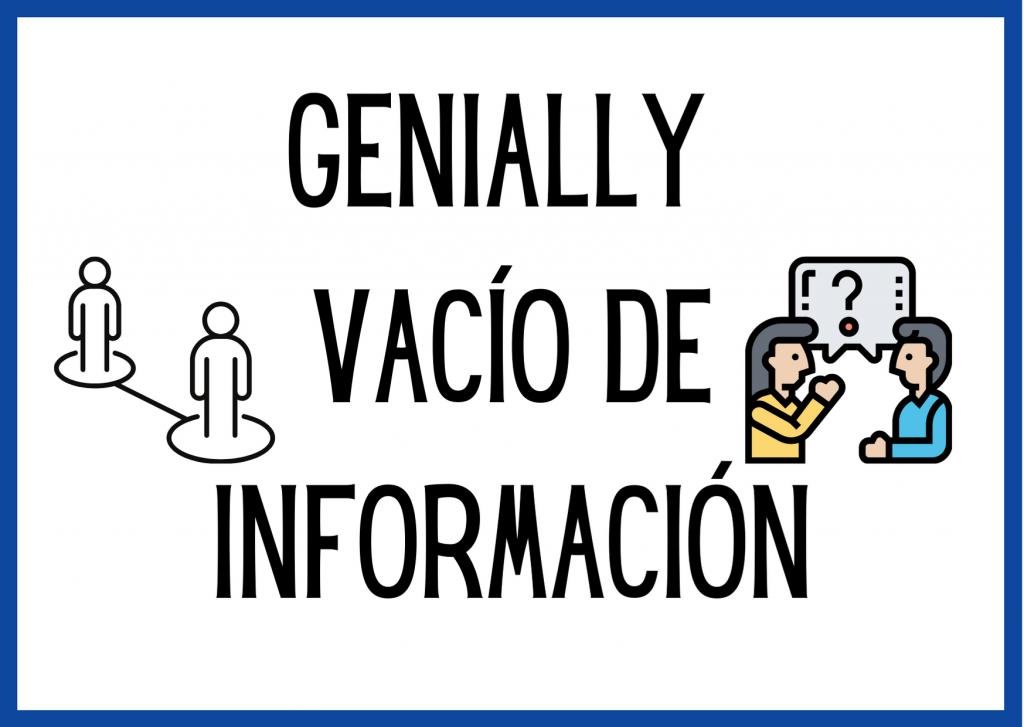 actividades de vacío de información